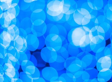 spot lights: Defocused blue Christmas lights ideal for backgrounds