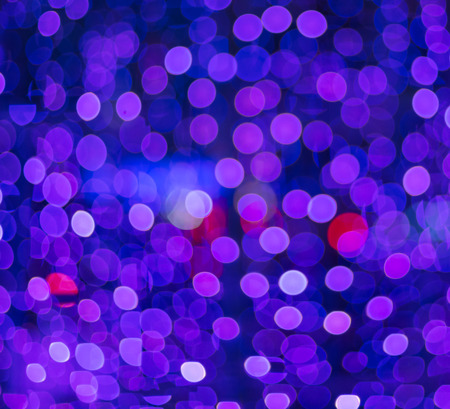 christmas backgrounds: Defocused blue and pink Christmas lights ideal for backgrounds