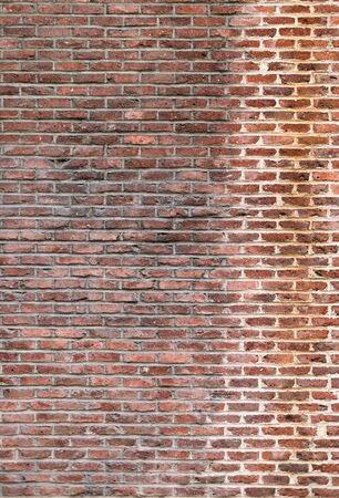 building external: Brick wall of an external wall of an ancient building