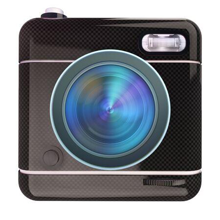 camera icon: Black camera icon