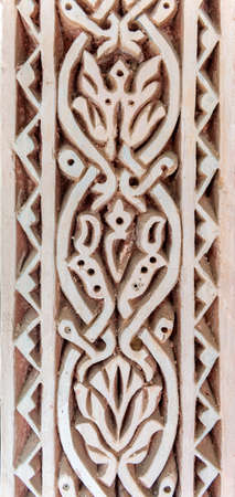 patrimony: Detail on a Mudejar Spanish building