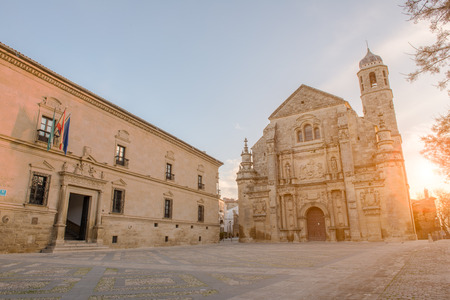 plateresque: Ubeda, a monumental Spanish town Stock Photo