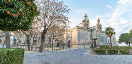 plateresque: Magnificent renaissance church, Santa Mar?a in Ubeda, Spain