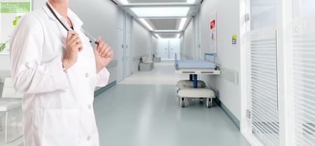 Lekarka w nowoczesnym szpitalu