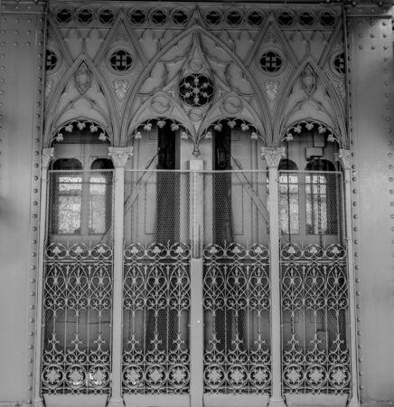 Eiffels Santa Justa Elevator in Lisbon Zdjęcie Seryjne