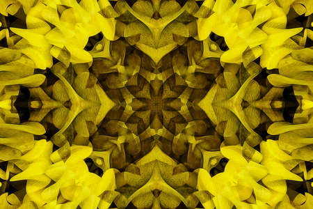 kaleidoscopic: Kaleidoscope of color with beautiful ornamental - Thorough background summary - seamless Stock Photo
