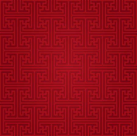 Seamless Chinese pattern  イラスト・ベクター素材
