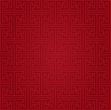 Seamless Chinese pattern Çizim