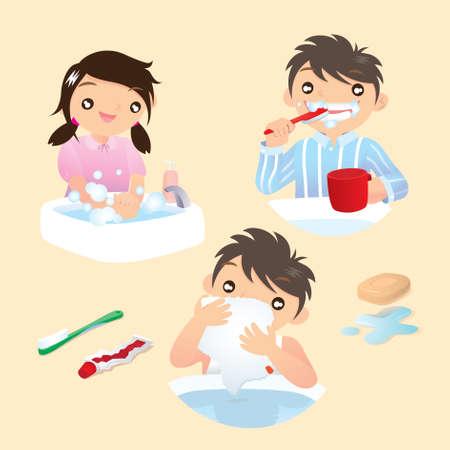 dientes sucios: Sea un buen niño