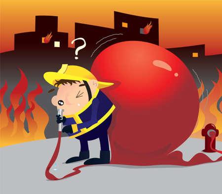 stupid: Stupid fireman
