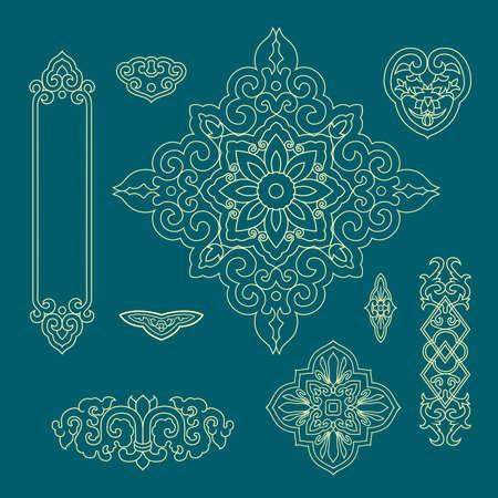 jubilant: Chinese decorative pattern 2