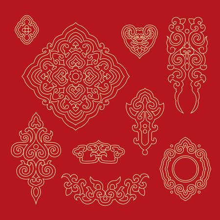 Chinese decorative pattern 1
