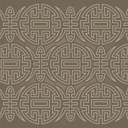 auspicious element: Chinese Longevity pattern