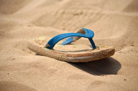 flip flops on the beach: flip flops, beach, sand, holiday