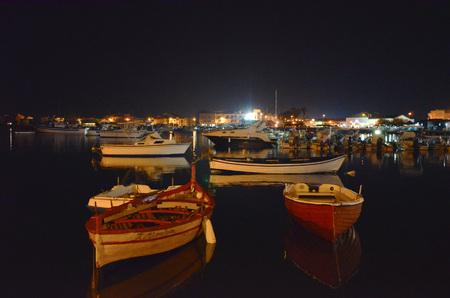 ortigia: fishing boats, yachts and boats in the port of Syracuse Ortigia