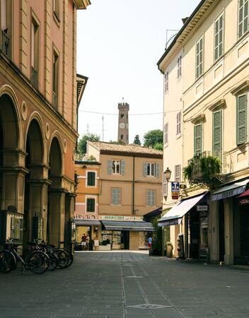 rimini: Village of Italy. Rimini, Santarcangelo di Romagna Editorial