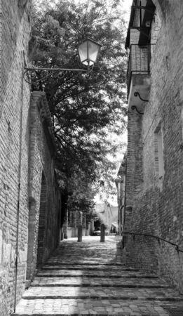 rimini: Village of Italy. Rimini, Santarcangelo di Romagna Stock Photo