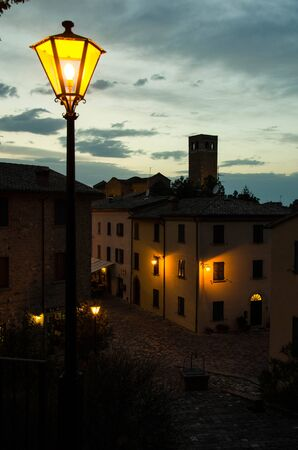 emilia: San Leo, Rimini. Emilia Romagna. Italy.