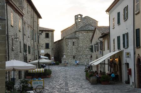 rimini: San Leo, Rimini. Emilia Romagna. Italy.