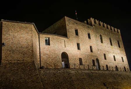 rimini: The Malatesta castle of Mondaino (Rimini) Editorial