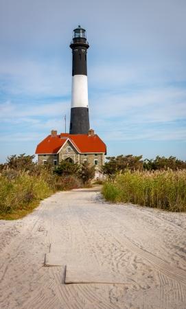 lighthouse keeper: Lighthouse keeper Stock Photo