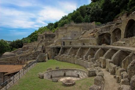 イタリア - ナポリ、考古学・ ディ ・ バイア 写真素材