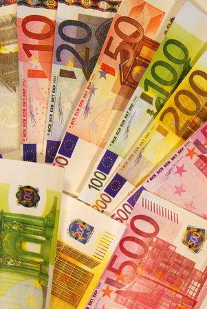 Euro currency, European banknotes, European money Stock Photo - 7214258