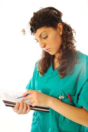 Doctor richiede cure mediche per oggi Archivio Fotografico - 7224702