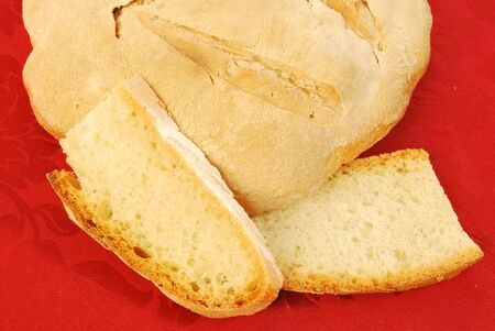 soft sell: From wheat to bread made at home 032 Stock Photo