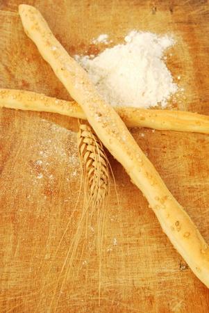 gressins: Gressins aux graines de s�same Banque d'images