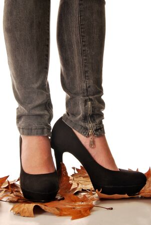 Jeans and high heels 013 photo