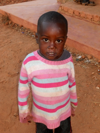 affected: Franciscan Mission in Tanzania near the village Pomerini kind to help children and families affected by AIDS           Editorial