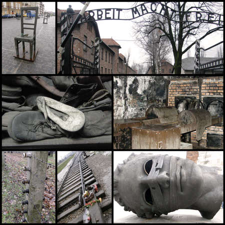 auschwitz memorial: The memory of the memory - Never to forget
