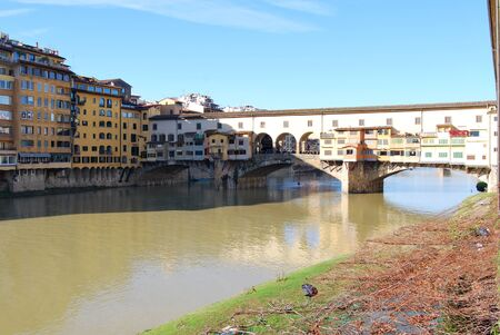 The Ponte Vecchio in Florence - Italy  photo