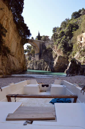 The Fjord and the village of Furore on the Amalfi Coast - Campania - Italy 145 photo