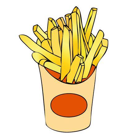fryer: Basket of chips