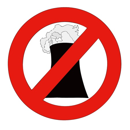 No to Nuclear Stock Photo - 20341518