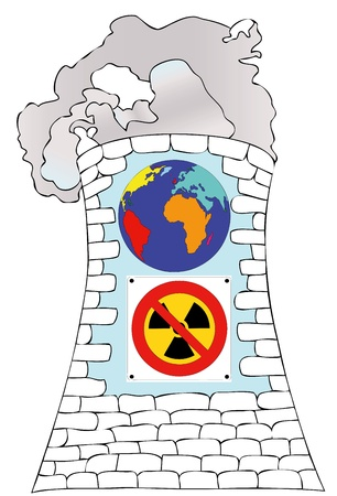 Against nuclear power for a cleaner world photo