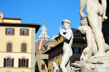signoria square: Florence - Signoria Square - Art and beauty - Tuscany - Italy - 180