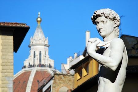Florence - Signoria Square - Art and beauty - Tuscany - Italy - 182 Stockfoto