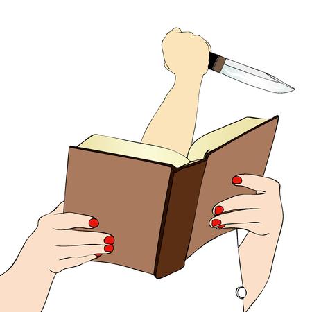 novel: A good mystery novel - The Unpredictable murderess