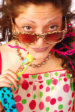 strangeness: A woman very, very extravagant