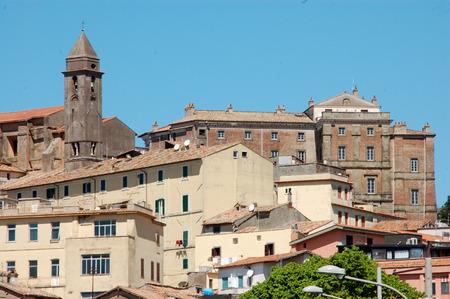 A glimpse of Genzano di Roma - Rome-Italy Foto de archivo