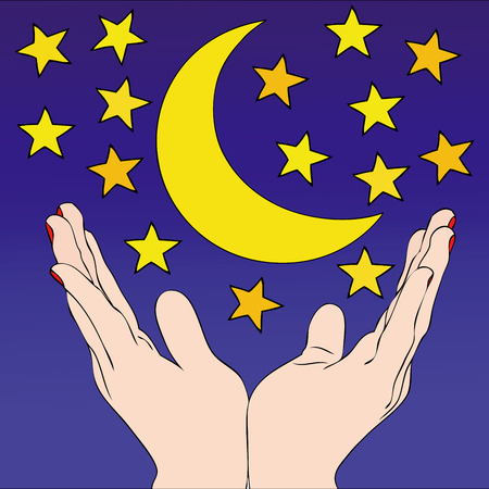 firmament: Firmament - Symbolic image to wish good night