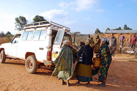 humanitarian aid: August 2014-Tanzania-Africa-The intervention of help and support of the Franciscan Friars of the association Mawaki to the people of the immense territory of Southern Tanzania