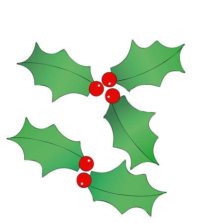 coronas navidenas: Ilustraci�n que representa una decoraci�n de Navidad - guirnaldas de Navidad