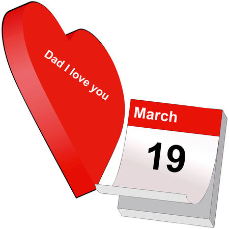 recurrence: Symbolic illustration that represents March 19, Feast of All Dad