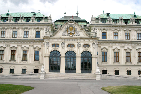 nbrunn: Example of Architecture Imperial in Vienna, Austria - The Imperial Palace of Sch�nbrunn in Vienna