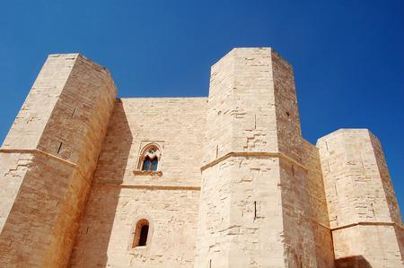 frederick: The Castle of Frederick II at Castel del Monte in Puglia - Italy