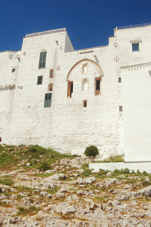 Glimpse of Ostuni The White City of the Murgia - Apulia - Italy Editorial